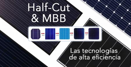 Sobre las tecnologías Half-Cut y MBB